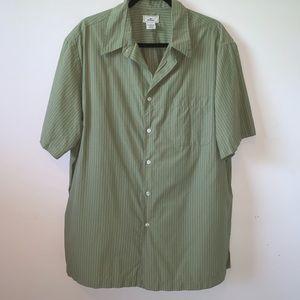 Dockers Pinstriped Button Down Shirt